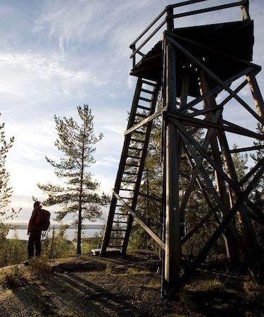 Struven ketju Oravivuoren piste, kuva Markus Sirkka