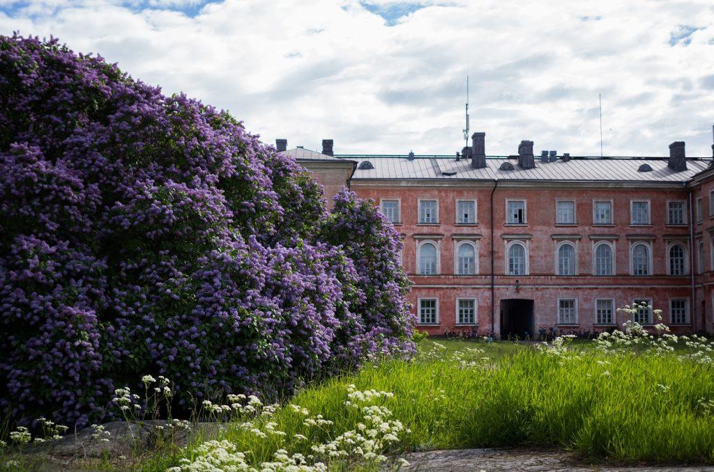 Asuintalo Suomenlinnassa, kuva Aino Heininen