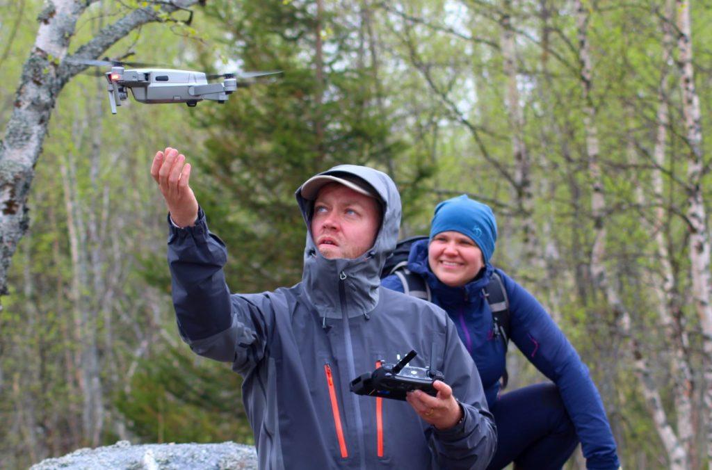 Dronekuvausta kuva Liselott Nystrom Forsen 1