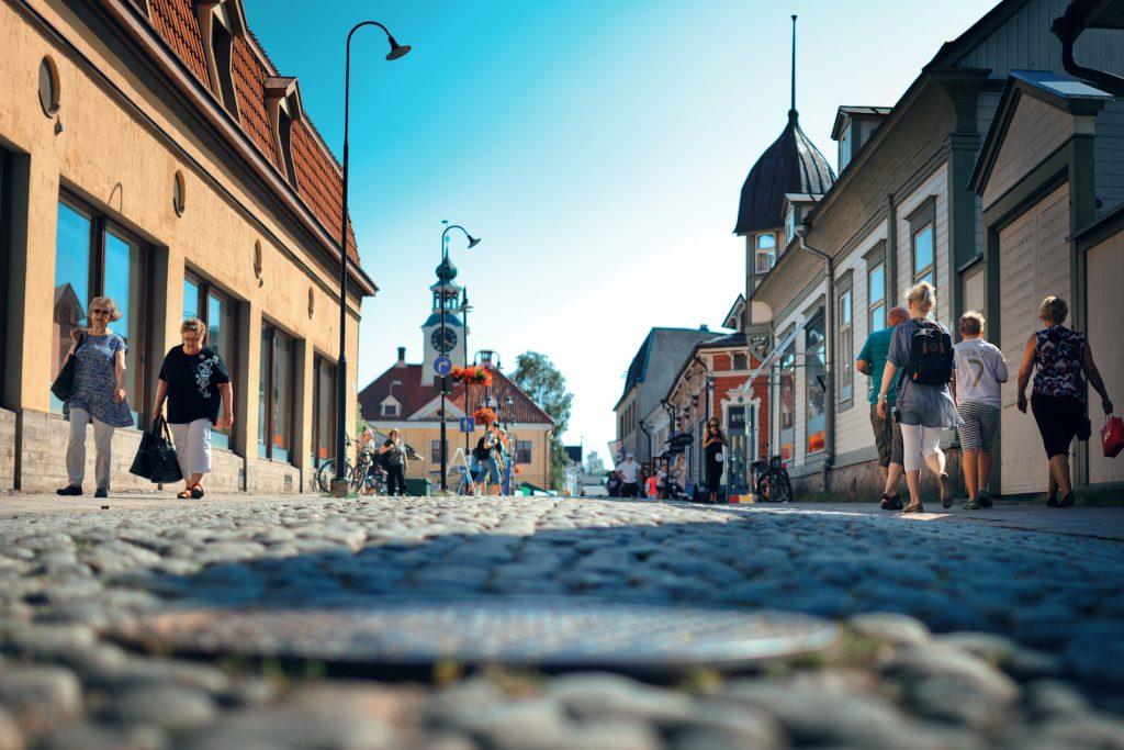 Isokirkkokatu Vanhassa Raumassa