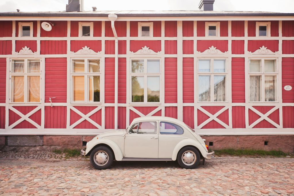 Kuplavolkkari Vanhassa Raumassa
