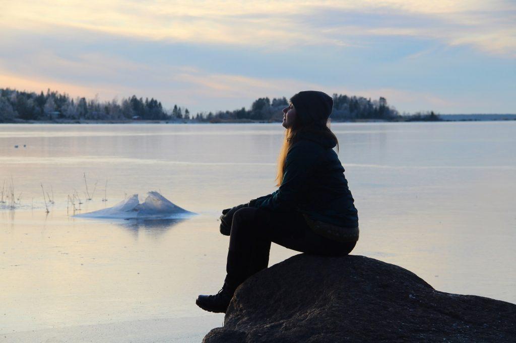 Merenkurkku talvella pieni kuva Liselott Nyström Forsén