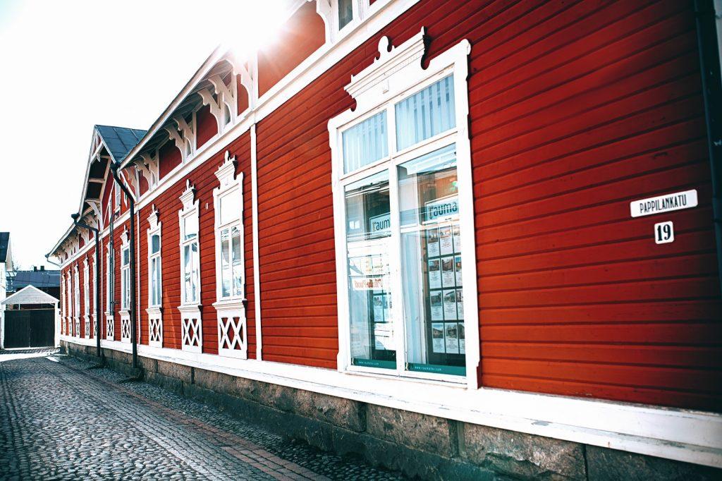 Pappilankatu Vanhassa Raumassa kuva Rauman kaupunki 1