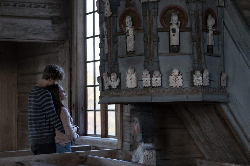 Petäjäveden vanha kirkko sisältä
