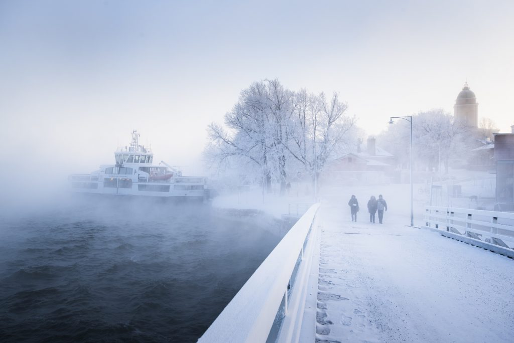Suomenlinna talvella, kuva SLHK