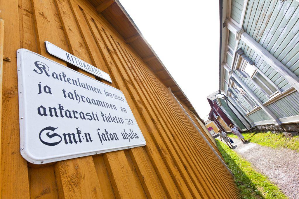 Vanha Rauma Kitukränn kuva Rauman kaupunki
