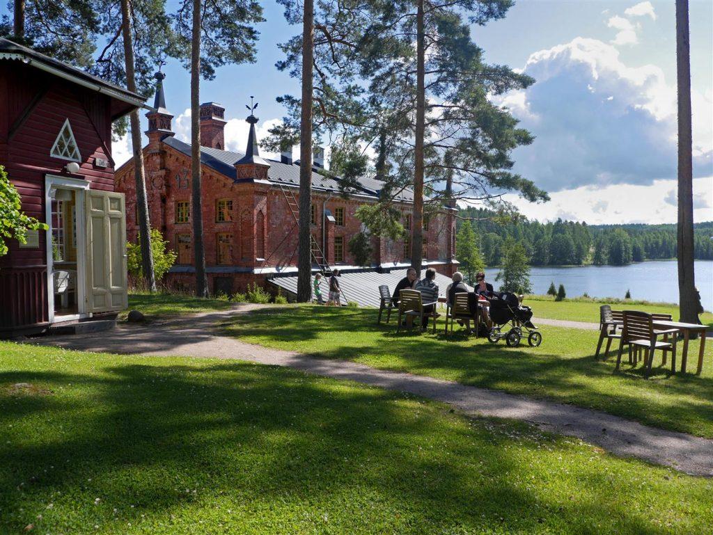 Verlan järvimaisemaa kuva Lassi Kujala