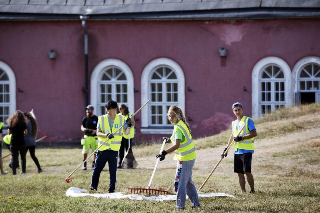 WHV leiri Suomenlinnassa, kuva Susanna Kekkonen
